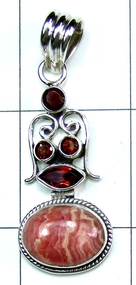 Wholesale Sterling silver Pendant-ss4p493