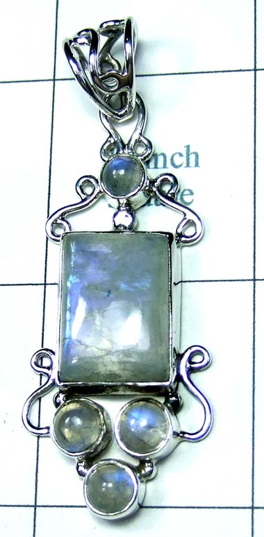 Wholesale Sterling silver Pendant-ss4p495