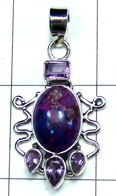 Wholesale Sterling silver Pendant-ss4p498