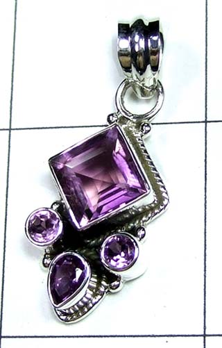 Wholesale Sterling silver Pendant-ss4p503