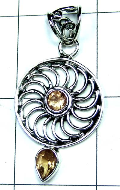 Wholesale Sterling silver Pendant-ss4p506