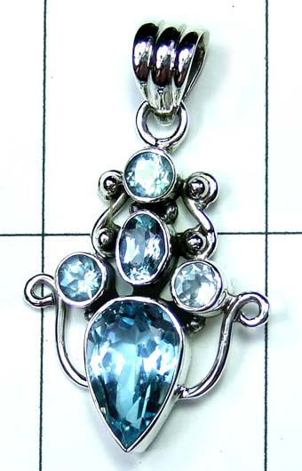 Wholesale Sterling silver Pendant-ss4p510