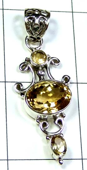 Wholesale Sterling silver Pendant-ss4p511