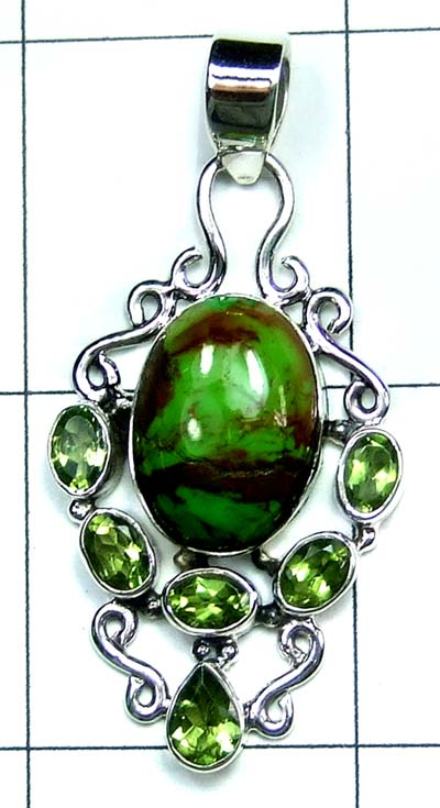 Wholesale Sterling silver Pendant-ss4p513