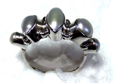 Wholesale silver Ring India-ss4r140