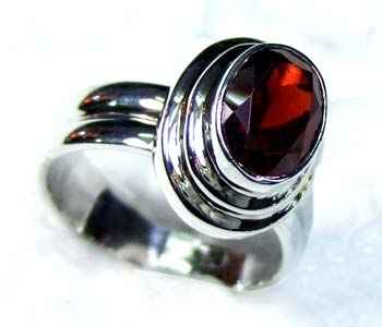 Beautiful silver gems Ring-ss4r147