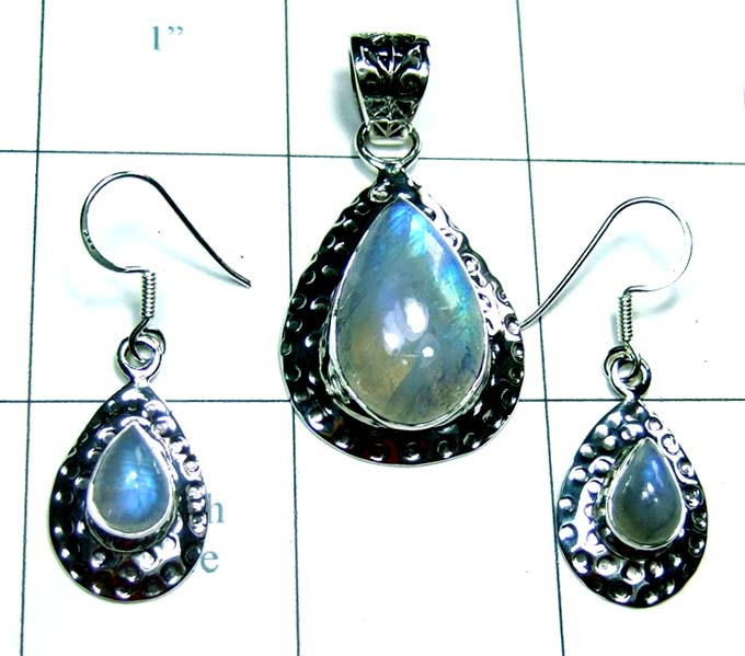 Sterling silver Jewelry Sets-ss4set041