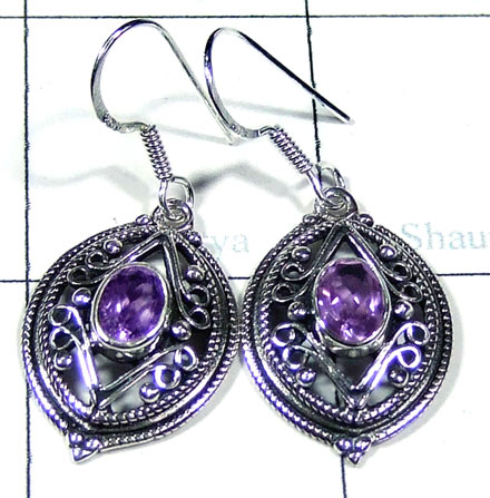 Silver ethnic style Earring-ss5e111