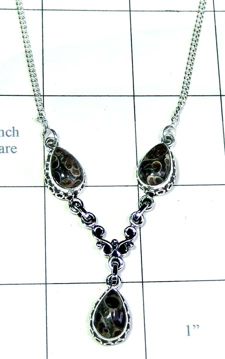 Handmade Silver Necklace-ss5n015