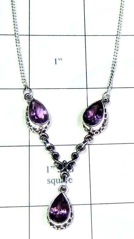 Handmade Silver Necklace-ss5n016