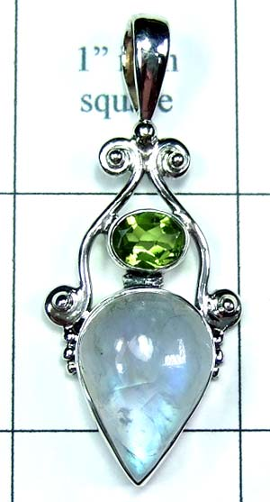 Sterling silver Pendant-ss5p011
