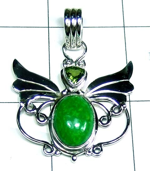 Wings silver Pendant-ss5p075