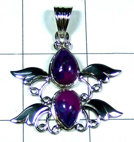 Handicrafted silver Pendant-ss5p109