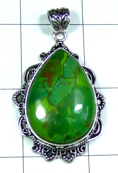 Sterling silver gems Pendant-ss5p122