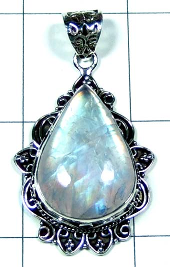 Sterling silver gems Pendant-ss5p123