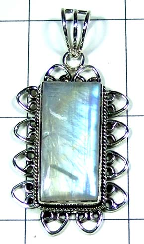 Sterling silver gems Pendant-ss5p128