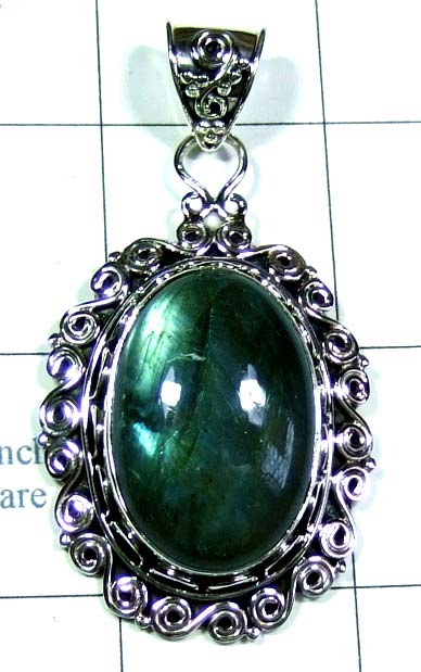 Sterling silver gems Pendant-ss5p129