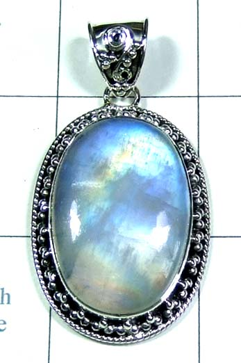 Sterling silver gems Pendant-ss5p130