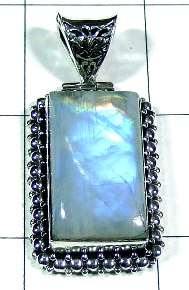 Color gemstone Pendant-ss5p158