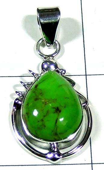 Color gemstone Pendant-ss5p160