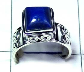 Wholesale silver gemstone Rings-ss5r037