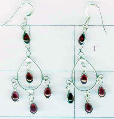 Wholesale Silver Earring-w2ne063
