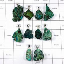 CBP896-10 Pcs.Tibet Turquoise Rough Wholesale Lot 925 Sterling Silver