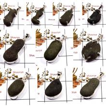 CBP899-10 Pcs. Boji Gemstone Handmade Wholesale Pendants 925 Sterling Silver