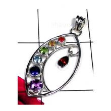 Wholesale sterling silver Checkra Pendant Collection-ICHP012