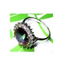 Exclusive Casting silver Mystic Ring-C14SR903