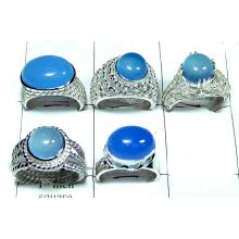 Silver Chalcedony Ring Value Pack-JVR009