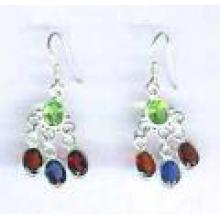 4 Stone Wonder Earrings-SSQBE015