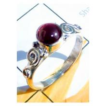 RBS910-Designer Small Size Ring Cab Gemstone Made In 925 Sterling Silver Wholesale Lot
