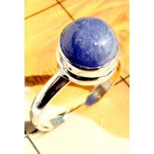 RBS916-Wholesale Lot Round Cab Gemstone With 925 Sterling Silver Small Size Trendy Ring