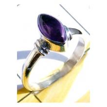 RBS921-Superior 925 Sterling Silver Small Size Trendy Ring Cab Gemstone Wholesale Lot