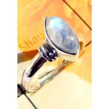 RBS918-Wholesale Lot Made In 925 Sterling Silver Cab Gemstone Small Size Trendy Ring