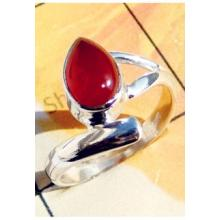 RBS934-Cab Gemstone With 925 Sterling Silver Small Size Beautiful Ring Wholesale Lot Direct Factory Made