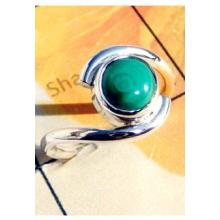 RBS958-Wholesale Lot Made In 925 Sterling Silver Cab Gemstone Small Size Trendy Ring