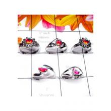 RBS983-5 Pcs Baby Ring Multi Design With 925 Sterling Silver Wholesale Lot