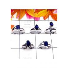 RBS981-Multi Design With 925 Sterling Silver Wholesale Lot Small Size 5 Pcs