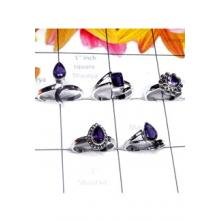 RBS980-5 Pcs Small Size Ring Multi Design With 925 Sterling Silver Wholesale Lot