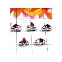 RBS996-Baby Ring Made In 925 Sterling Silver With Cut Gemstone Wholesale Lot 5 Pcs