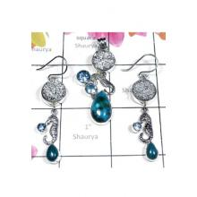 925 Sterling silver Shattukatite gems Set-SEASET008