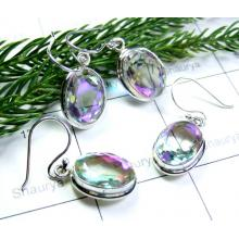 Rainbow Mystic Earrings-SS6YE012