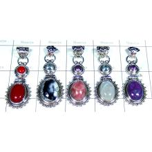 5 Pcs Sterling silver  Pendants - SYP030