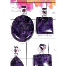 W2CRT997-250 gm-Beautiful Cheroite Gemstone Exclusive silver Pendants
