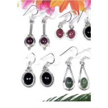 W2GT997-250 gm-Gorgeous Earrings With Tourmaline