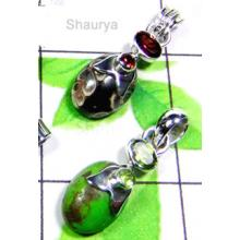 W2LCP943-10 Pcs- Wholesale Gemstone 925 Silver Pendants