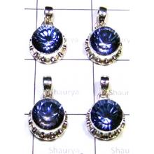 W2MQ998-250 gm-Fabulous Blue Mystic Quartz Designer Pendants