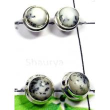 W2PS998-100 Pair-Gorgeous Dendritic Stud Earrings